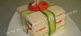اردور نون و پنیرو گوجه و خیار و سبزی