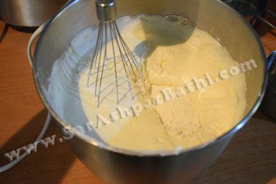 اضافه کردن آرد