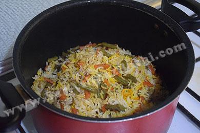 برنج دم کشیده