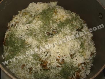 برنج قبل از پخت