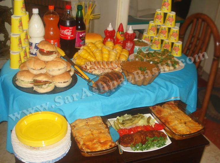 جشن تولد باب اسفنجی | سرآشپزباشی