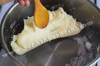 جدا شدن خمیر از ظرف
