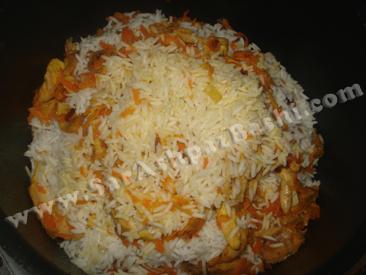 جمع کردن برنج