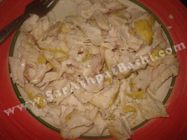خرد کردن مرغ