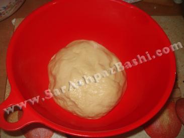 خمیر قبل از استراحت (2)