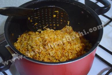 دم کشیدن برنج