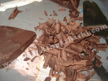 رنده شکلات