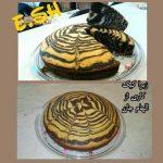 زبرا کیک الهام