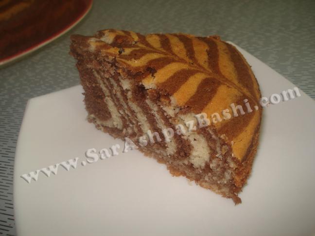 زبرا کیک