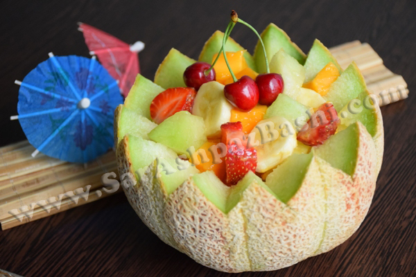 Image result for طرز تهیه سالاد میوه