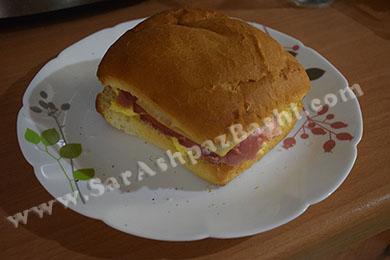 ساندویچ آماده