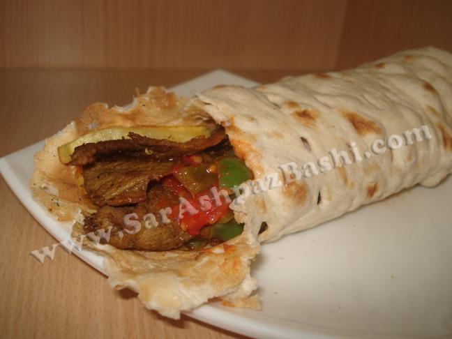 ساندویچ دونر کباب