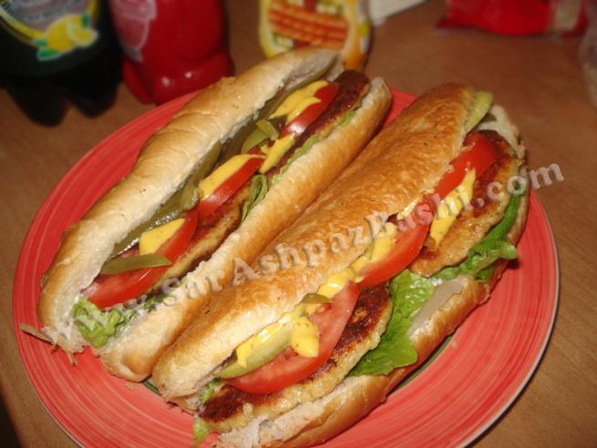 ساندویچ چیکن برگر