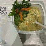 سوپ بروکلی غزاله