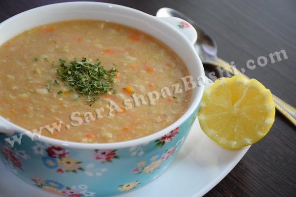 لاغری با سوپ جو سوپ جو | سرآشپزباشی | مرجع دستورات آشپزی و شیرینی پزی