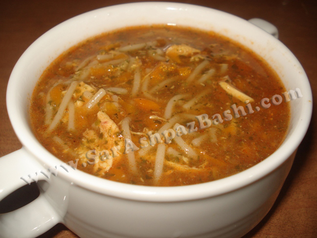 سوپ ورمیشل