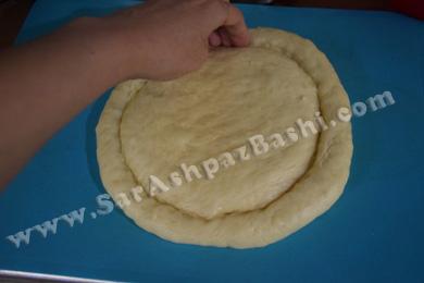 شکل دادن خمیر