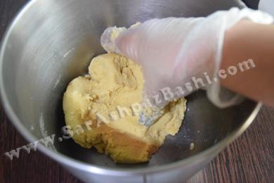 شکل گرفتن خمیر