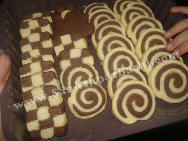 شیرینی دو رنگ