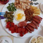 صبحانه انگلیسی منیره