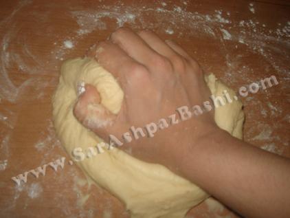 فشار دادن با کف دست