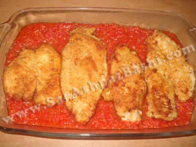 قرار دادن مرغها