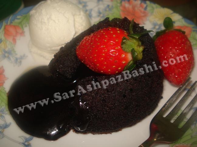 لاوا کیک