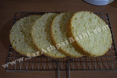 لایه کردن کیک