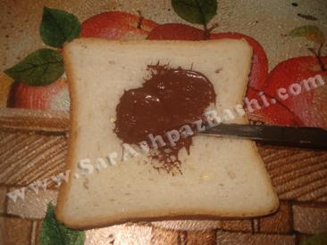 مالیدن شکلات