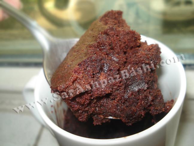 ماگ کیک شکلاتی فوری
