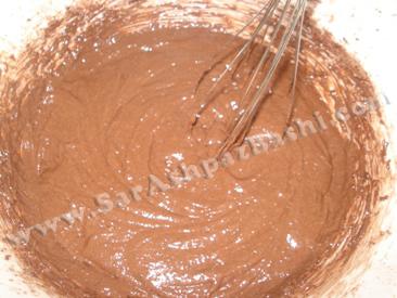 مایه کیک بعد از تخم مرغها