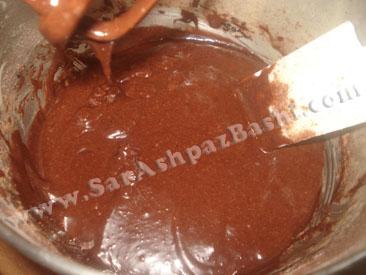 مایه کیک شکلاتی