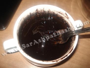 مخلوط شدن شکلات و کره