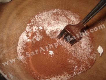 مخلوط کردن مواد خشک