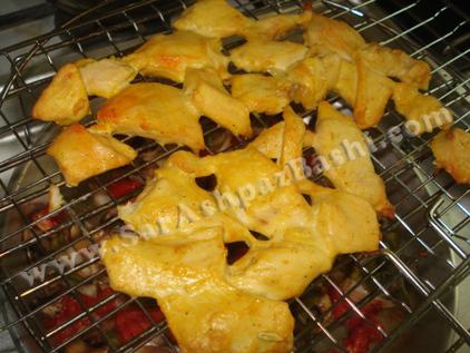 مرغهای پخته