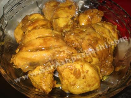 مرغها در ظرف فر