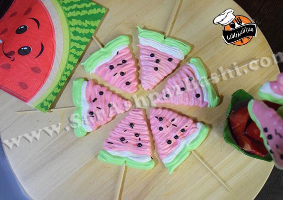 مرنگ هندوانه (۲)