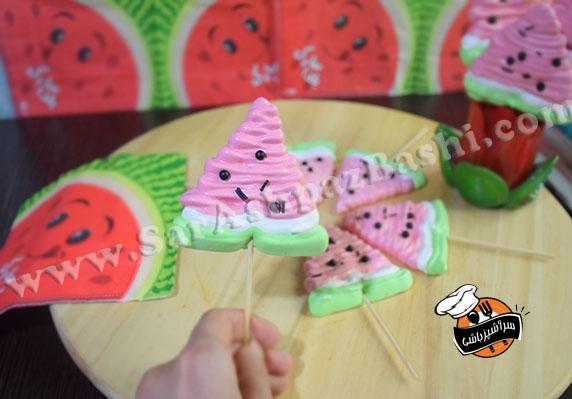 مرنگ هندوانه (۳)