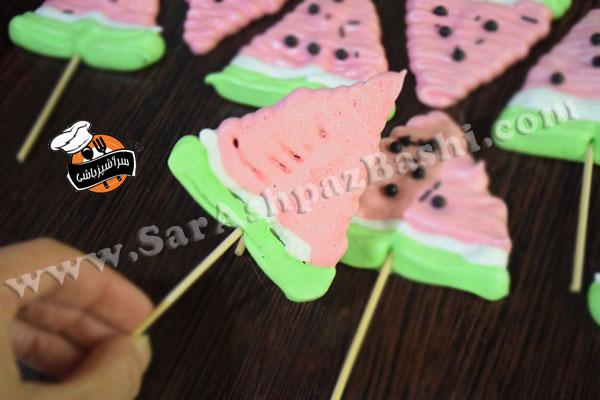مرنگ هندوانه (۴)