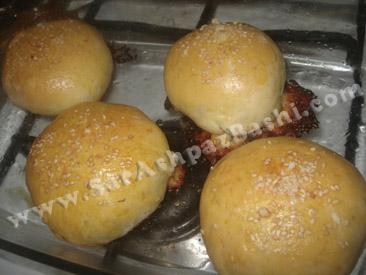 نانهای پخته شده