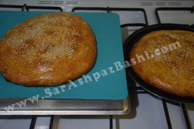 نانهای پخته