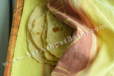 نان لای پارچه