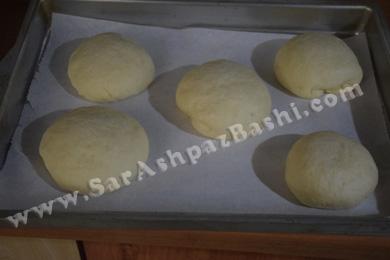 نان های پف کرده