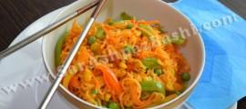 نودل سبزیجات