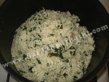 والک پلو قبل از پخت