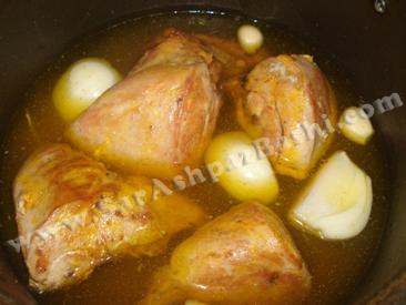 پختن مرغها