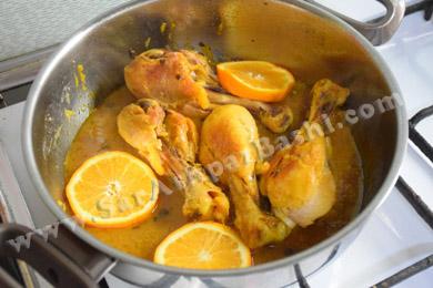 پختن مرغ