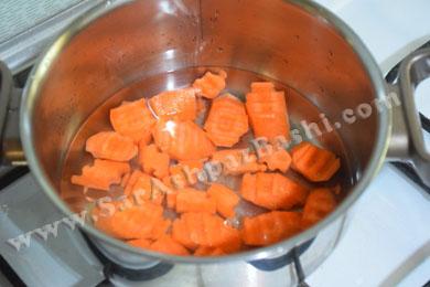 پختن هویج