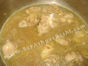 پختن گوشت
