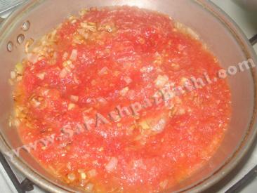 پخت سس گوجه
